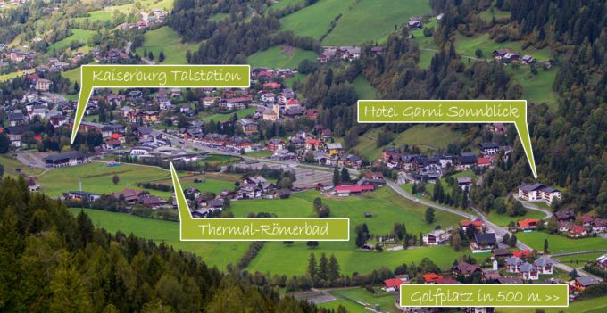 Hotel House Sonnblick Perfect Location in Bad Kleinkirchheim